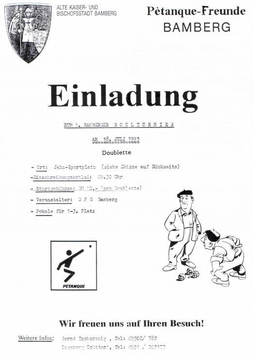25. DFC Bamberg Vereinscup