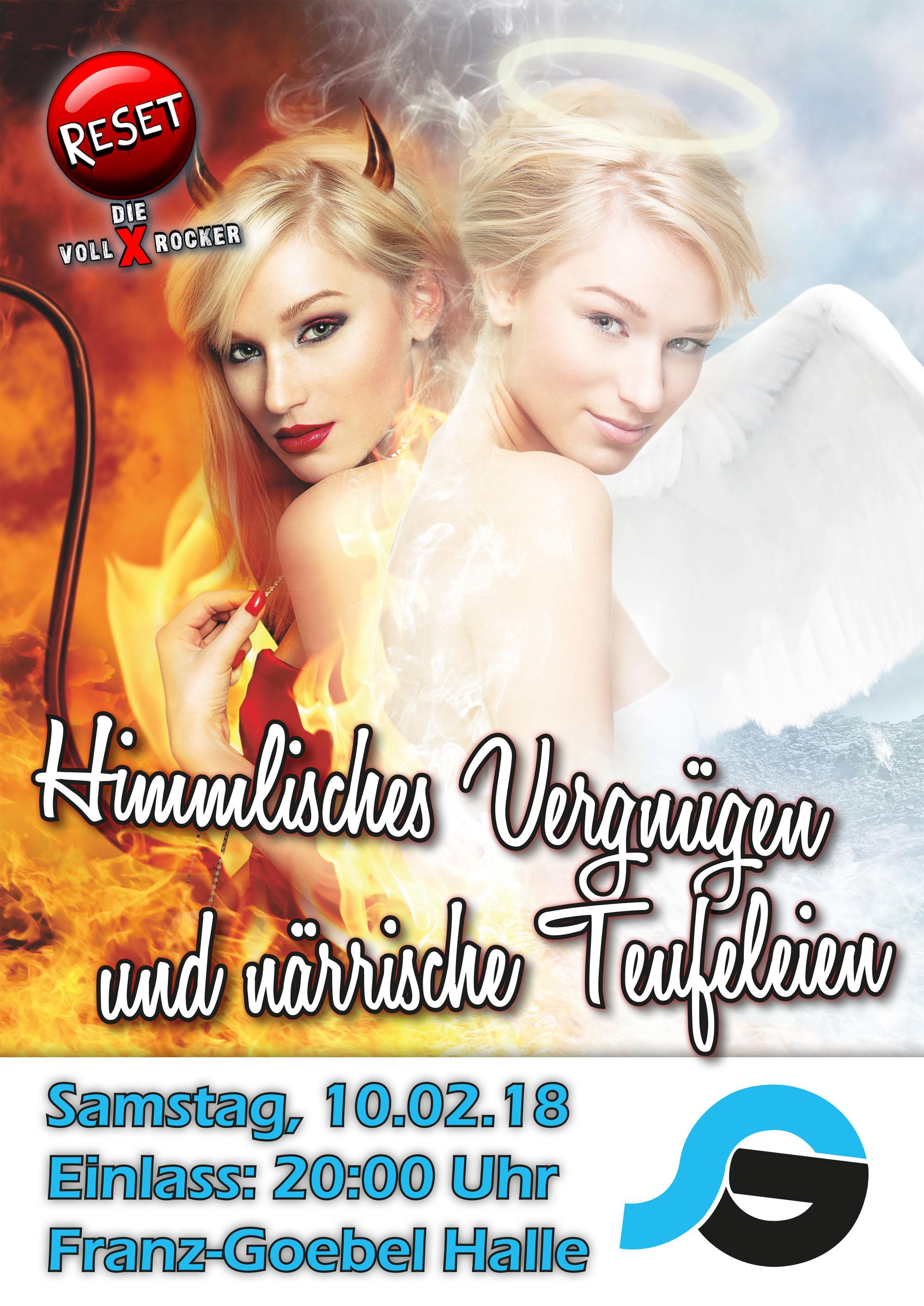 Kultfasching Himmlisches Vergnügen und närrische Teufeleien