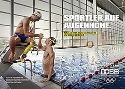 Abnahme Sportabzeichen  2019 im Schwimmen